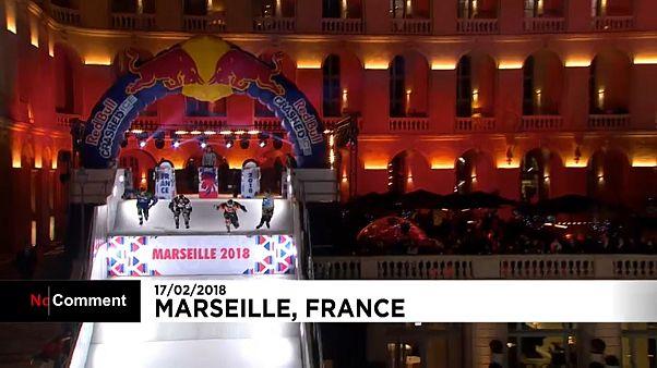 Ледовые гонки в Марселе