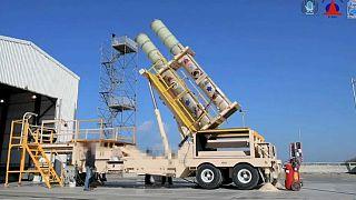 Israel testa sistema antimíssil