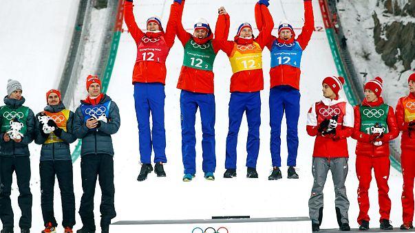 Páratlan páros izgalmak az olimpián
