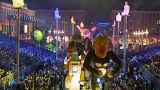 Carnevale 2018, Trump che spara Kim Jong-un da un cannone e altri highlights