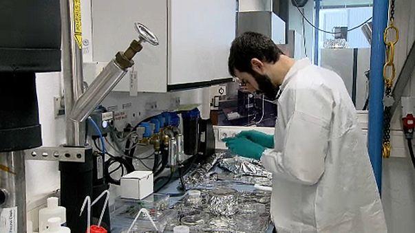 Scientist working at ESTEC
