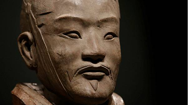China furious after American 'steals terracotta warrior's thumb' at museum