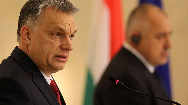Orbán és Bojko Boriszov bolgár kormányfő Szófiában