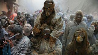 حرب الطحين على الطريقة اليونانية