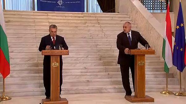 Viktor Orbán e Boyko Borisov