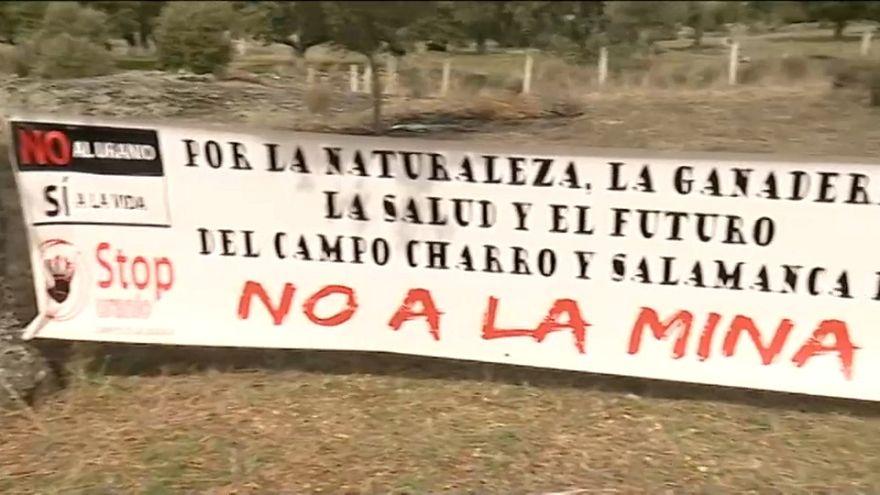 Madrid diz que licenciamento da mina de urânio não é certo