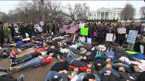 Los estudiantes estadounidenses alzan la voz por el control de armas