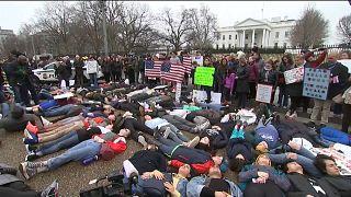 Waffengesetze: US-Schüler fordern Taten