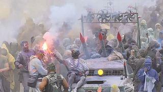 La guerra de la harina marca el fin del carnaval de Galaxidi