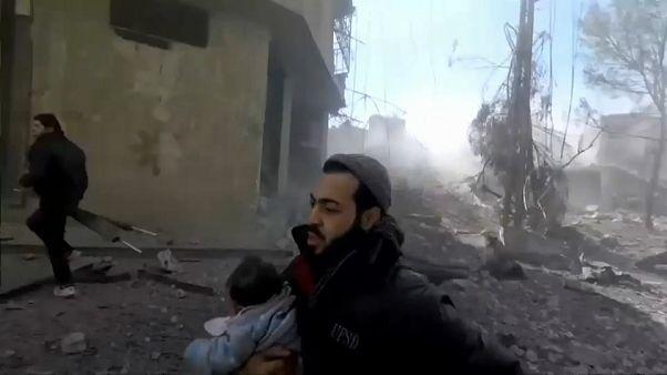 La Ghouta orientale sous le feu de l'armée syrienne