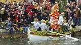 Feuer frei mit Nelken: Blumenkarneval am Mittelmeer