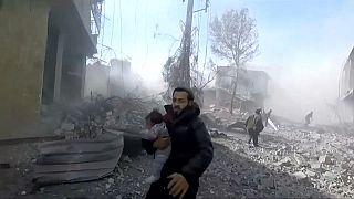 Mehr als 100 Tote nach Angriffen auf syrisches Rebellengebiet
