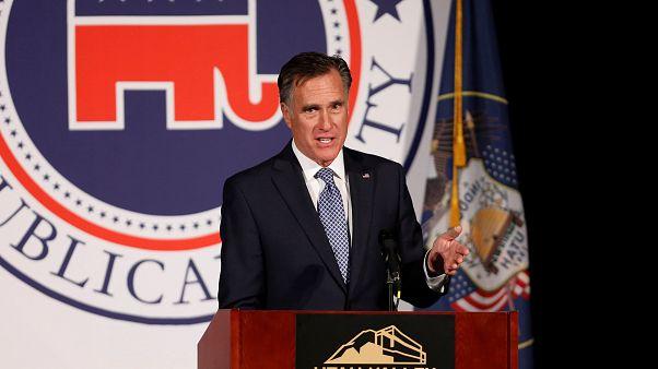 Mitt Romney recebe apoio de Trump para corrida ao Senado