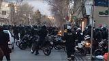 درگیریها در تهران؛ تعداد کشتههای خیابان پاسداران به ۵ نفر رسید
