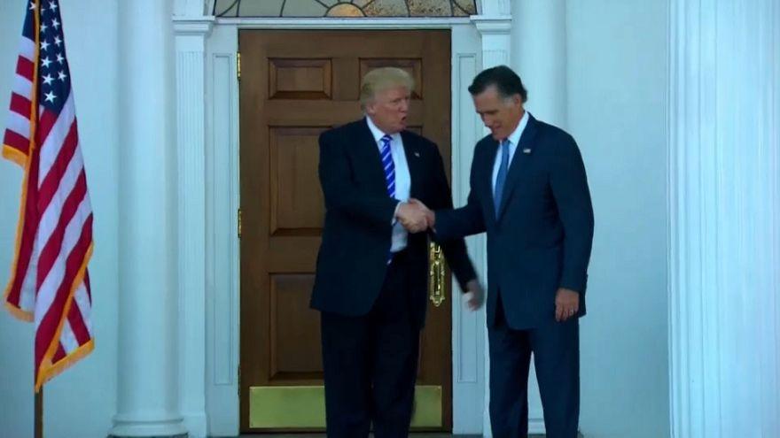Trump stärkt Romney den Rücken