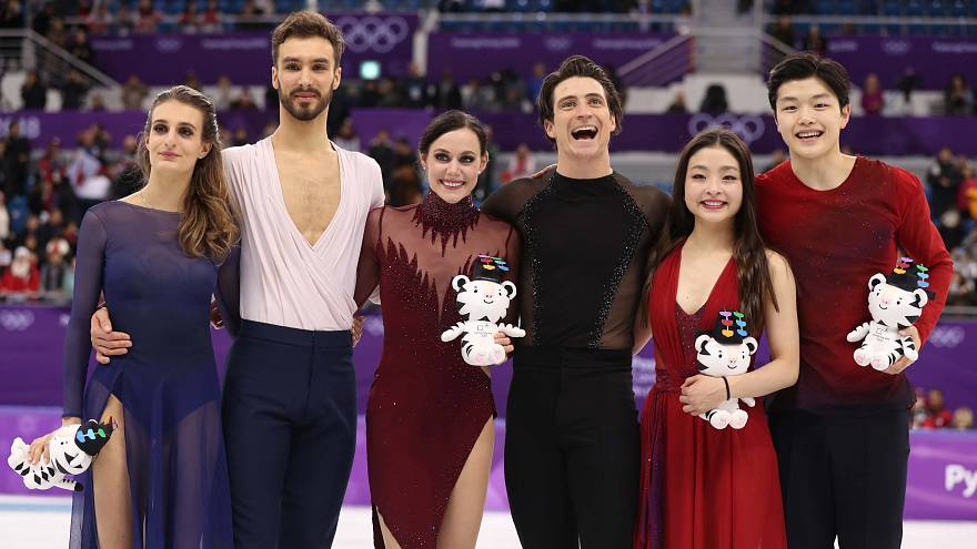 Canada-France-Etats-Unis, trio gagnant de la danse sur glace et du ski half pipe