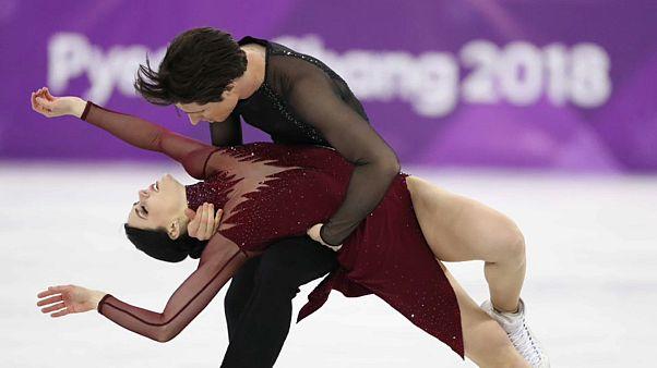 Olympia: Kanada gewinnt Eistanz und Ski-Freestyle