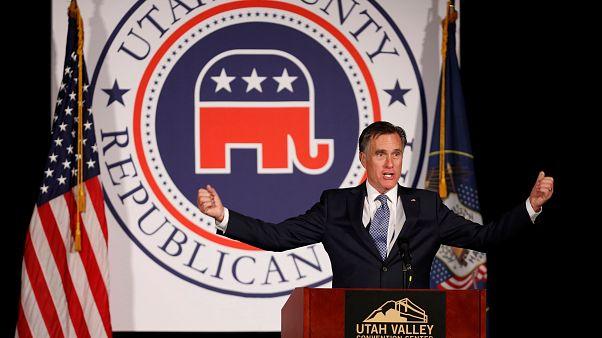 Trump soutient la candidature de Romney au Sénat