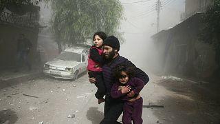 دستکم  ۱۰۰ کشته در حملات هوایی به غوطه شرقی؛ یونیسف بیانیه سفید منتشر کرد