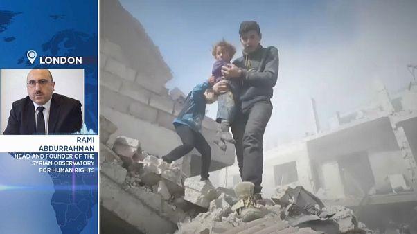 """مدير المرصد السوري لحقوق الإنسان ليورونيوز: """"ما يحدث في الغوطة الشرقية هو انتقام روسي"""""""