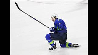 Slovenia men's ice hockey player Ziga Jeglic