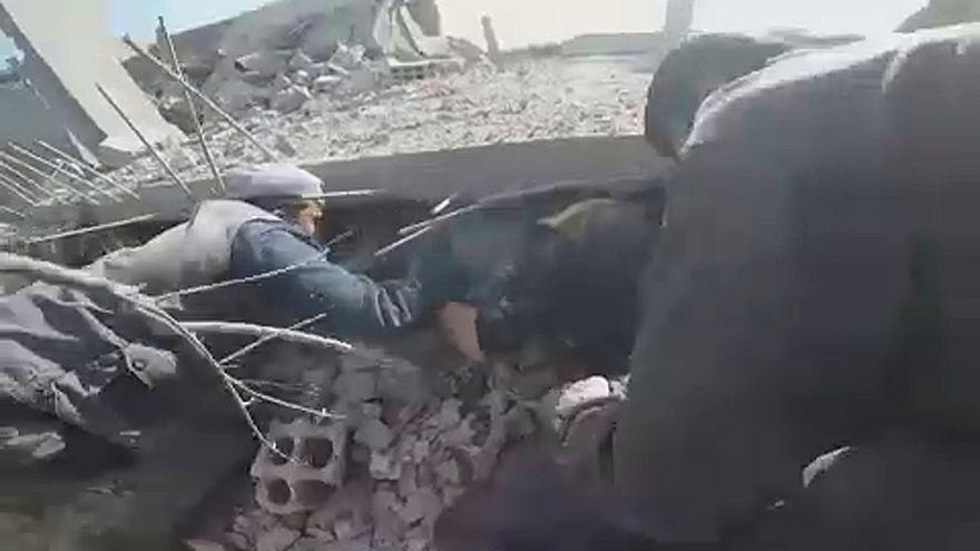 Kedden is bombázták Gútát