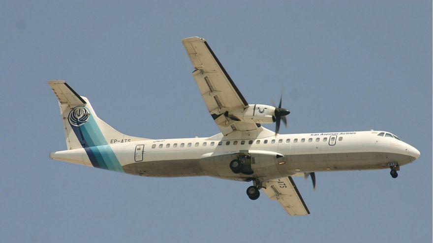 طائرة من طراز ATR 72-500 مشابهة للطائرة الإيرانية المنكوبة، ويكيميديا