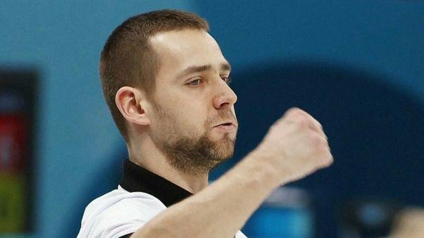 Russian Olympic curler Alexander Krushelnitsky