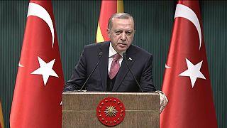 Erdoğan Şam rejimine bağlı güçlerin Afrin'den püskürtüldüğünü duyurdu
