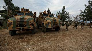 ارتش سوریه برای کمک به شبهنظامیان کرد وارد عفرین شد