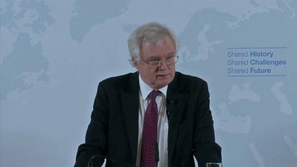 David Davis sets out a vision of Britain's global relations post-Brexit