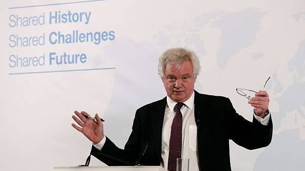 دیوید دیویس، وزیر برکسیت بریتانیا