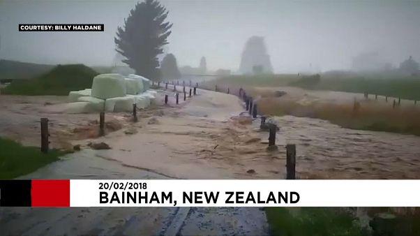 Former Cyclone Gita brings flooding to New Zealand