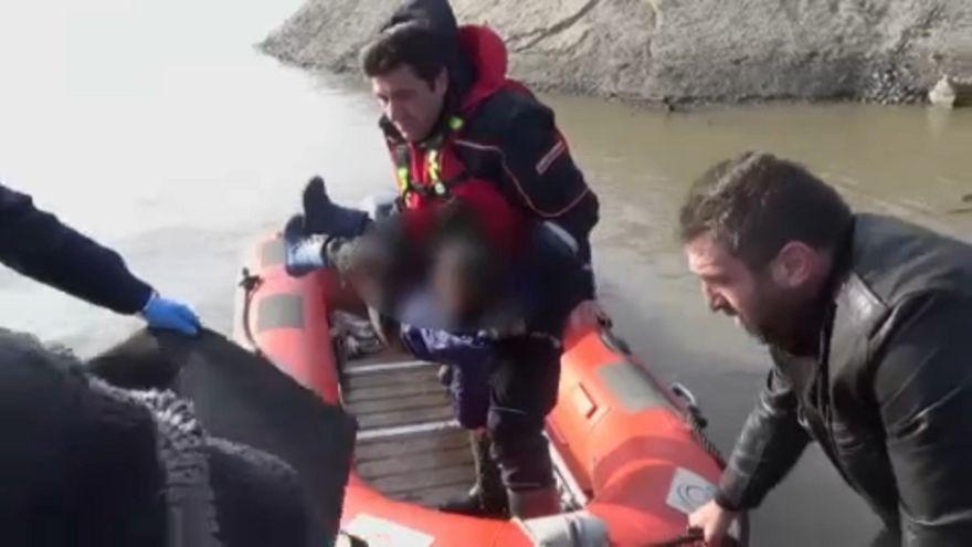A menekülés és a halál folyója az Evrosz