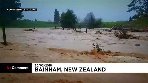 Varias ciudades de Nueva Zelanda en estado de emergencia por inundaciones