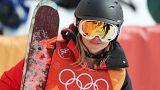 """Sciatrice ordinaria """"gabba"""" il sistema Olimpico e gareggia a Pyeongchang"""
