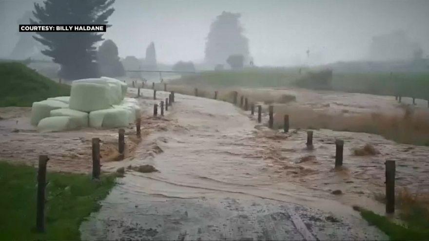 """إعلان الطوارئ في نيوزيلندا بسبب إعصار """"جيتا"""" المداري"""