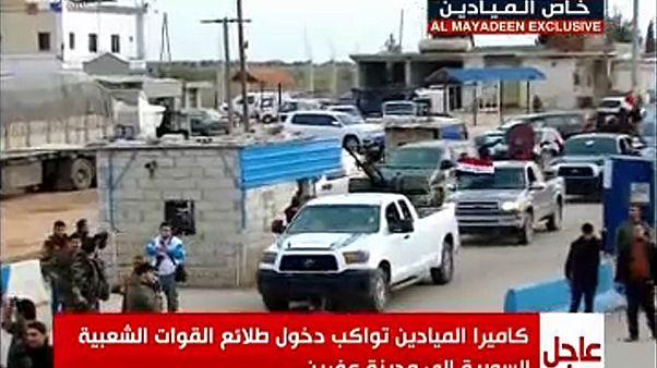 Afrin: közelítenek a szír erők