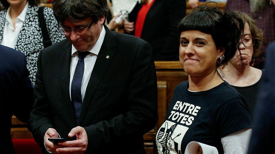 Katalan lider Gabriel duruşması için İspanya'ya dönmüyor