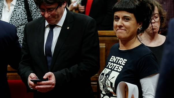 La séparatiste catalane Anna Gabriel reste en Suisse