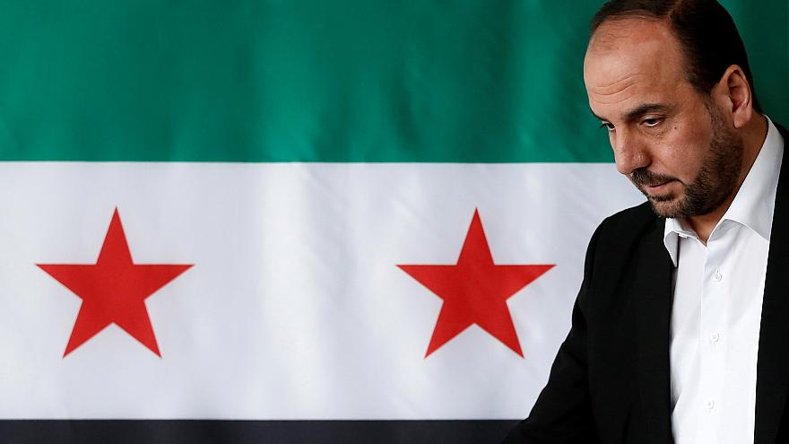 Nasr al-Hariri vom syrischen Oppositionsbündnis