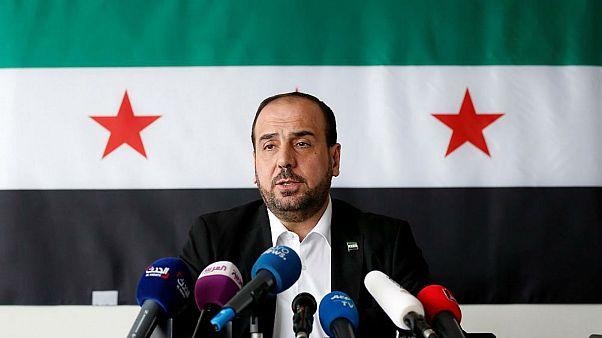 نصر حریری، نماینده مخالفان دولت بشار اسد