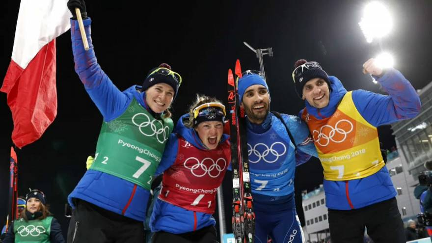 Fourcade é o mais medalhado em Pyeongchang