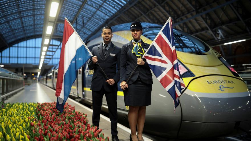 Átadták a London-Amszterdam Eurostart