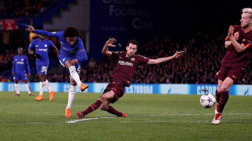 Chelsea et le Barça dos à dos