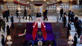 В Копенгагене простились с принцем Хенриком
