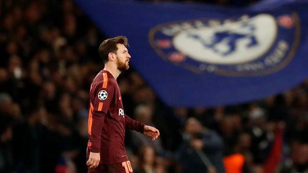 """Chelsea e Barcelona empatam na """"Champions"""""""