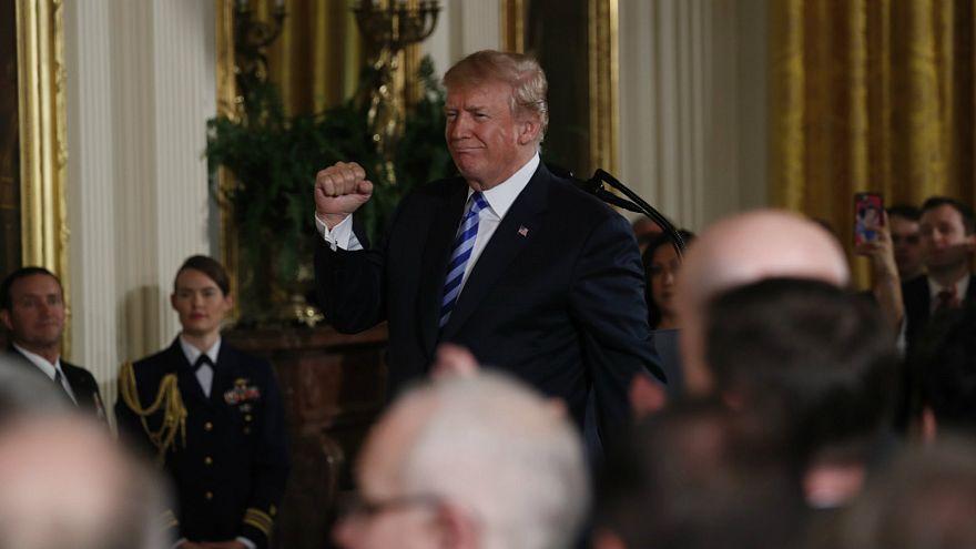 Trump pushes for gun 'bump stocks' ban