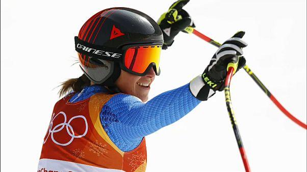 Историческая победа итальянской горнолыжницы