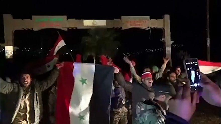 Syria: Pro-Assad forces enter Afrin city despite Turkish shelling